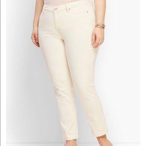 NWT Talbots Flawless Five Pocket Jean